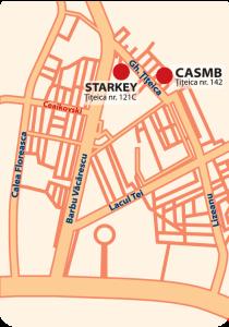 Aparate auditive Starkey Bucuresti - Sediul Central